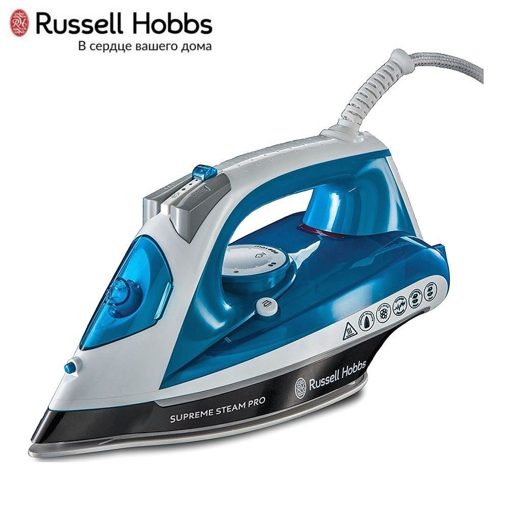 Iron Russell Hobbs 23971-56 Iron for ironing Mini iron steam iron Steam generator for clothing Irons Electric steamgenerator Small iron steam generator philips gc 7703 20 iron steam generator iron for ironing irons steam iron clothes steamgenerator electriciro