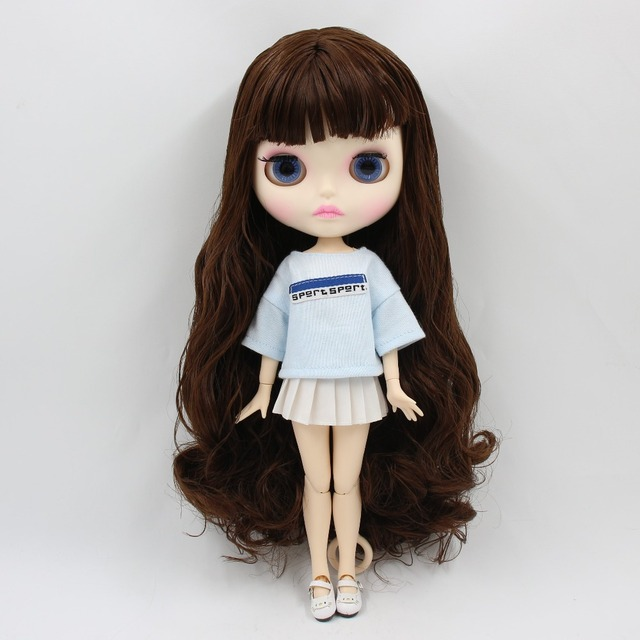 TBL Neo Blythe Doll Faarf Hoer Jointed Body