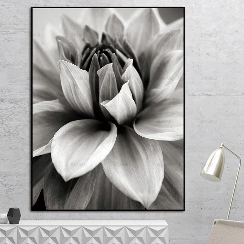 Σκανδιναβική αφηρημένη λουλούδι σε - Διακόσμηση σπιτιού - Φωτογραφία 2