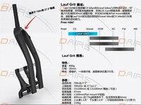 Carbon fiber Luar forks 700C ROAD and 26er MTB and fat fork shock absorber Luar front forks top shock resistant fork