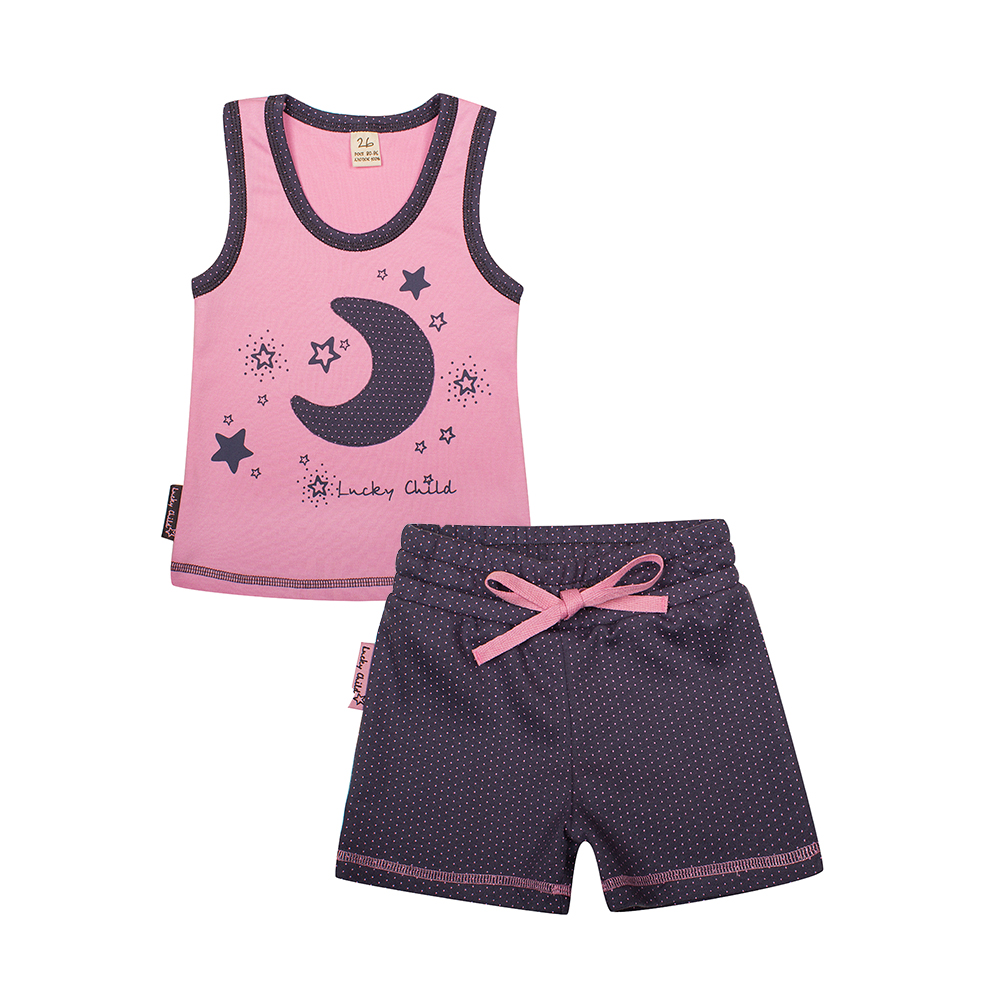 Pajama Sets Lucky Child for girls 12-411 (3T-8T) Children clothes kids clothes pajama sets lucky child for boys 13 403 3t 8t children clothes kids clothes
