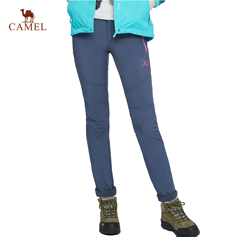 CAMEL New Women Men Winter Autumn Hiking Pants Sport Outdoor Fishing Climbing Trekking Camping Trousers Quick Dry Pants yeerfa fashion women loafers canvas shoes slipony oxford flats heels breathable slip on comfortable mix colors white black shoes