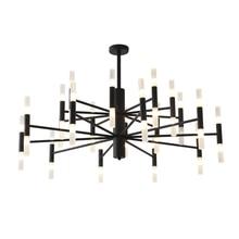 Artpad Modern LED Chandelier Lighting For Dining room Black Gold Led Ceiling Suspended Chandelier Light Lamp for Kitchen Loft
