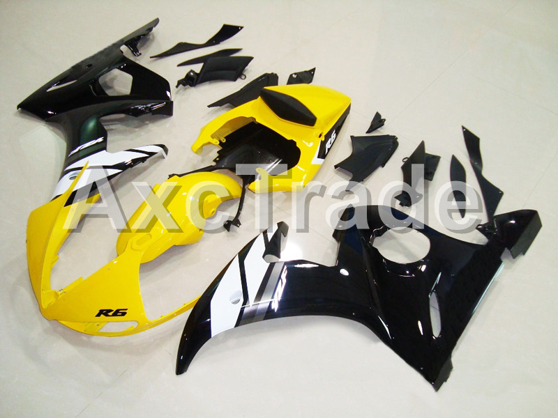 Motorcycle Fairings For Yamaha YZF600 YZF 600 R6 YZF-R6 2003 2004 2005 03 04 05 ABS Injection Molding Fairing Bodywork Kit B408 hot sales yzf600 r6 08 14 set for yamaha r6 fairing kit 2008 2014 red and white bodywork fairings injection molding