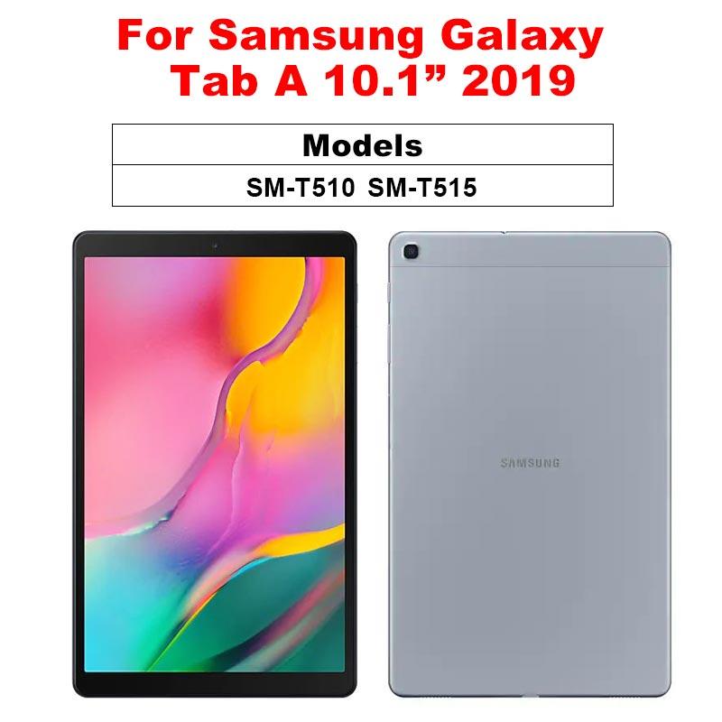 Защитная пленка для экрана samsung Galaxy Tab A 10,1 A 8,0 10,5 9D с закругленными краями из закаленного стекла для Galaxy Tab S5e S4 S6 - Цвет: Tab A 10.1 2019