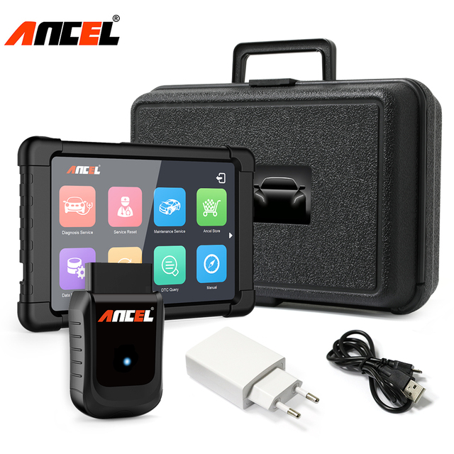 Best Price Ancel X5 OBD2 WiFi Car Diagnostics Full Systems OBD2 Scanner for Airbag ABS Oil Service Reset TPMS SAS EPB OBD 2 Diagnostic Tool