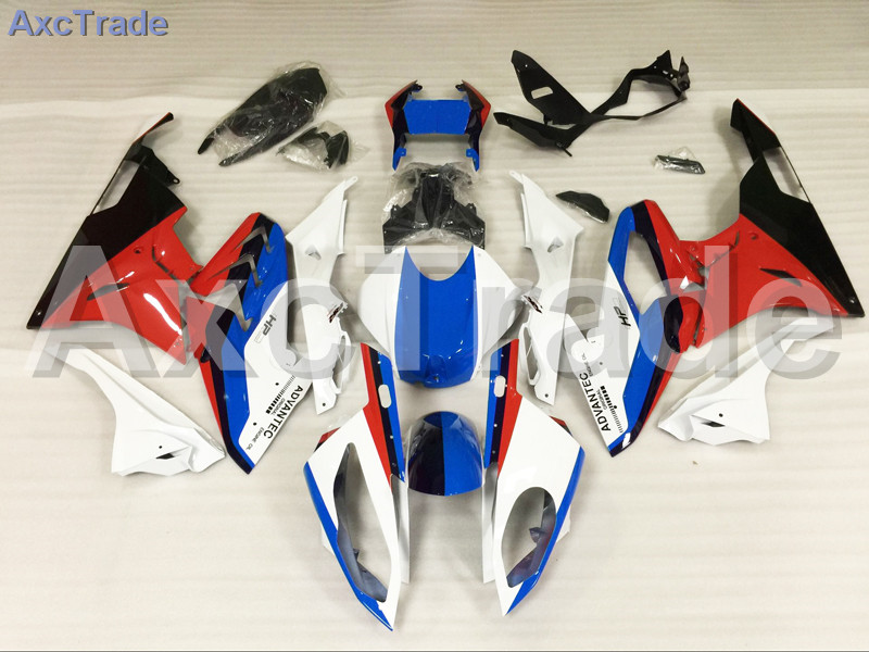 Motorcycle Fairings Kits For BMW S1000RR S1000 2015 2016 15 16 ABS Plastic Injection Fairing Bodywork Kit Red Blue Black A450 motorcycle blue bodywork kit fairing for bmw s1000rr s 1000 rr s 1000rr 2015 15 injection mold fairings cowl set uv painted