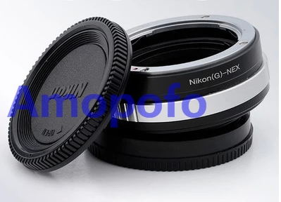 Amopofo N/G-NEX Focal Reducer Speed Booster Adapter for Nikon G mount Lens to for Sony NEX E A5100 A6000 A500 0 A3000 NEX-5T цена и фото