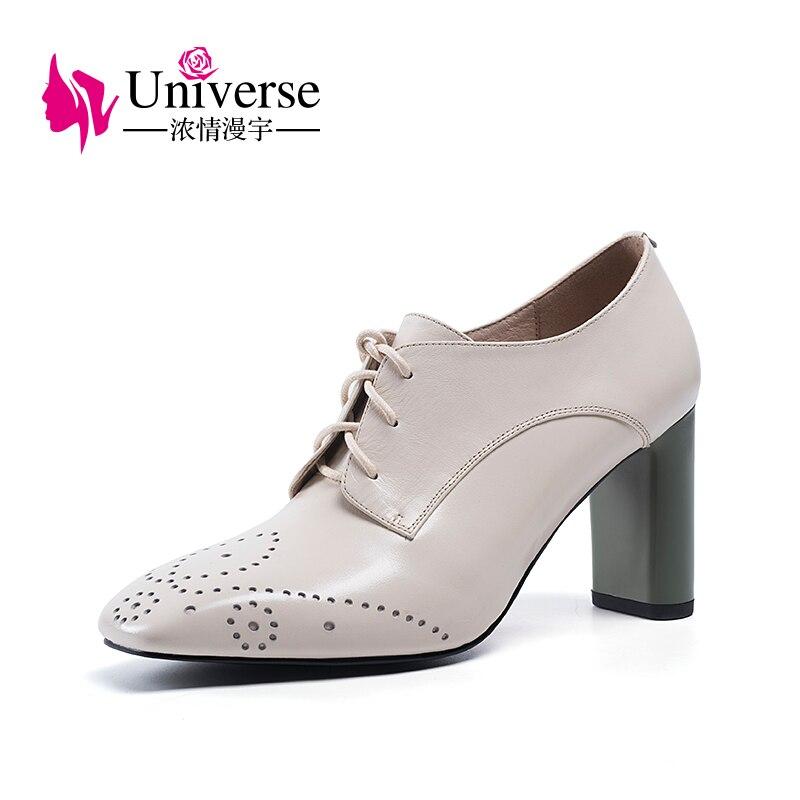 Botas de tobillo neutros con nudo en el universo de cuero genuino caliente super tacones altos negro y blanco para mujer botas de invierno zapatos H164-in Botas hasta el tobillo from zapatos    1