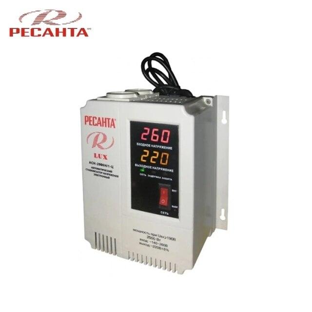 Однофазный стабилизатор напряжения Ресанта ASN-2000N/1-C LUX