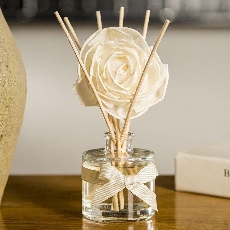 1 Stücke Natürliche Sammlung Rattan Volatilizating Ätherisches Öl Reed Diffusor Aromatischen Blume Aromatherapie Für Valentinstag Geschenk Spezieller Kauf