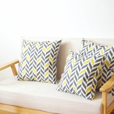 Hight Quality Super Soft  Pillow Pillowcase Cotton Linen Printed Pillow CASE Sets Cover Size 35*35/40*40/45*45cm
