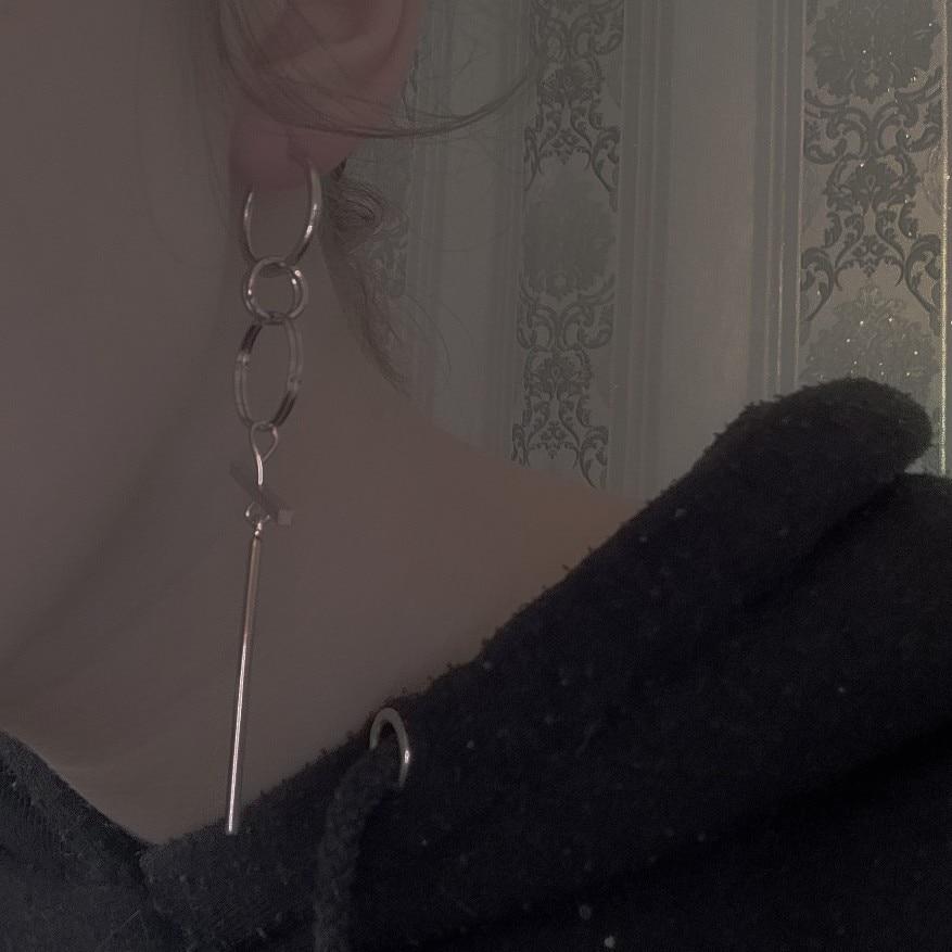 BTS Asymmetrical Earrings For Men photo review