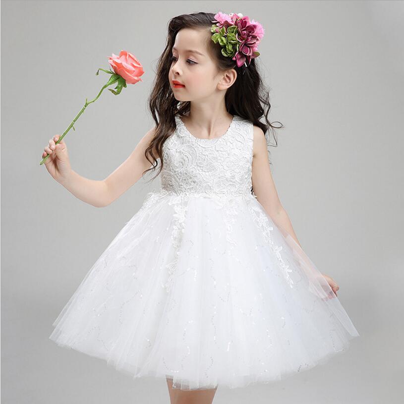 7506151551bbf 6M 2 ans bébé d anniversaire robe de mariage et robes de soirée En Dentelle  avec paillettes robe Mignon à la mode bébé robe dans Robes de Mère et  Enfants ...