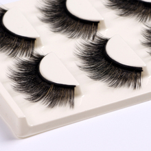 3D multilayer False Eyelashes Makeup alat kecantikan tebal Cotton thread full strip lashes hand made Palsu Eyelash Extension