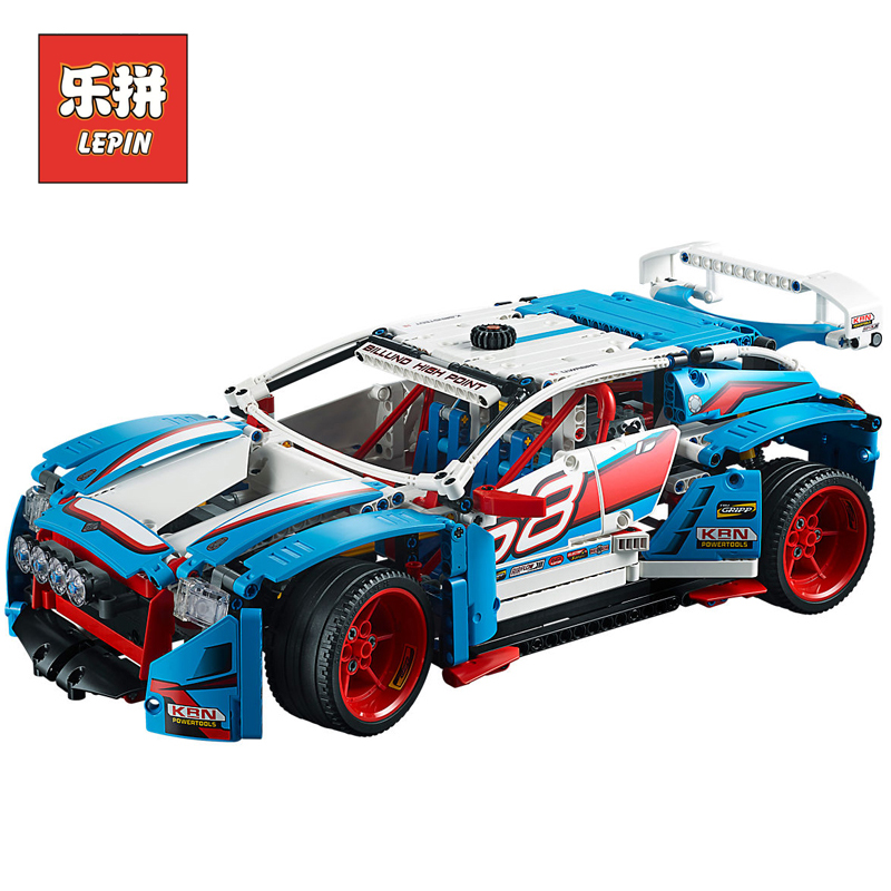 Lepin 20077 Technic Series The Rally Car Set 42077 Building Blocks Bricks Legoinglys Educational Funny Children Toys Gifts