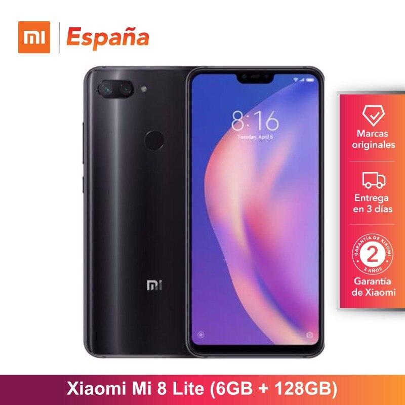 [Global Version For Spain] Xiaomi Mi 8 Lite (Memoria Interna De 128GB, RAM De 6GB, Pantalla De 6,26