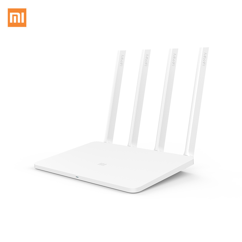 Xiaomi Mi Wireless Router 3 EU 1167Mbps Wi-Fi Repeater 2.4G/5GHz 128MB Dual Band APP Control EU Plug ewelink eu standard wireless remote control light dimmer switches crystal glass panel touch dimmer switch for smart home