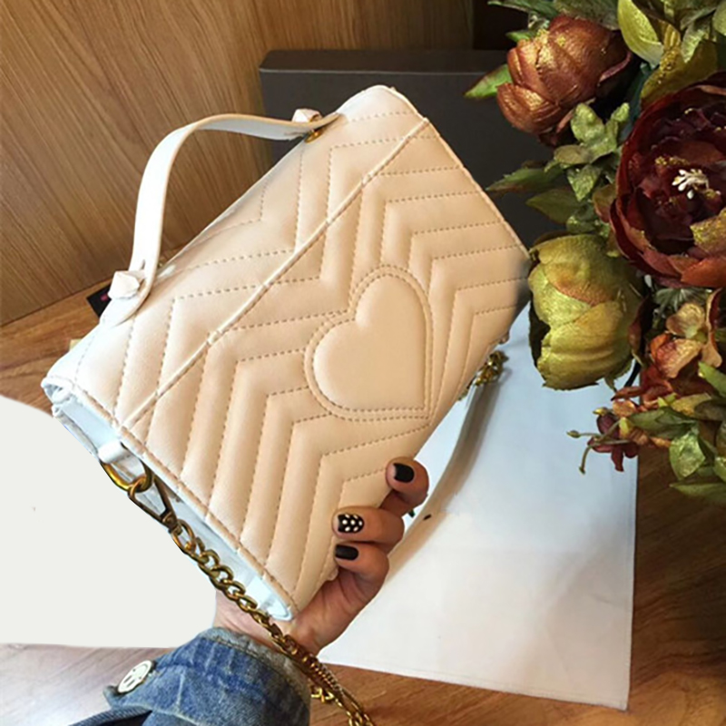 New High Quality Genuine leather women bag Chain Shoulder Bags Famous Luxury Handbags designer messenger bags genuine leather patckwork bags women casual messenger bag women s lady colorful zipper shoulder designer handbags high quality