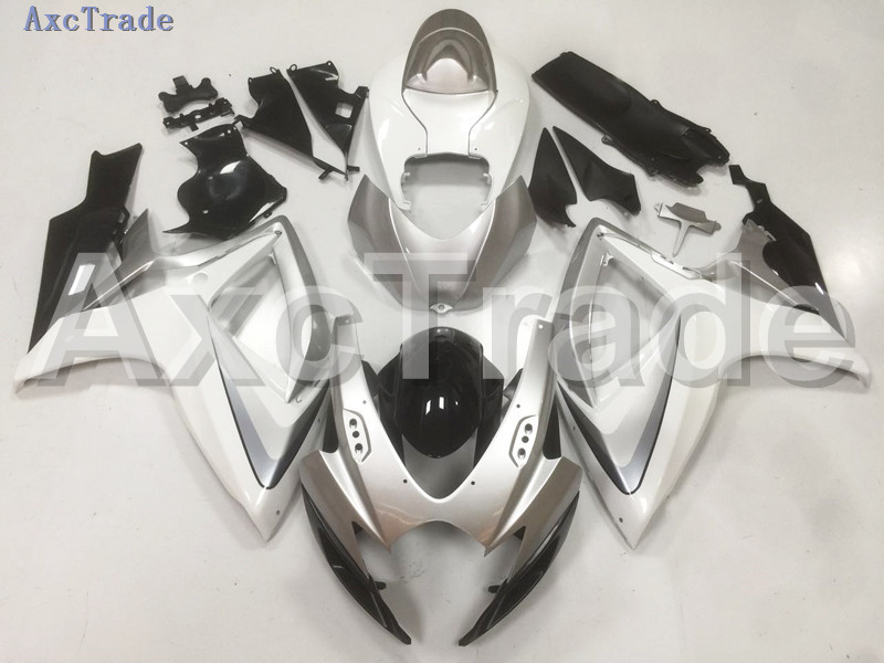 Motorcycle Fairings For Suzuki GSXR GSX-R 600 750 GSXR600 GSXR750 2006 2007 K6 06 07 ABS Plastic Injection Fairing Bodywork B09 new motorcycle ram air intake tube duct for suzuki gsxr600 gsxr750 2006 2007 k6 abs plastic black