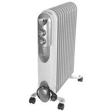 Обогреватель масляный Ресанта ОМПТ-12Н (Мощность 2500 Вт, 3 режима мощности, регулировка температуры, защита от перегрева, площадь обогрева 25 кв.м)