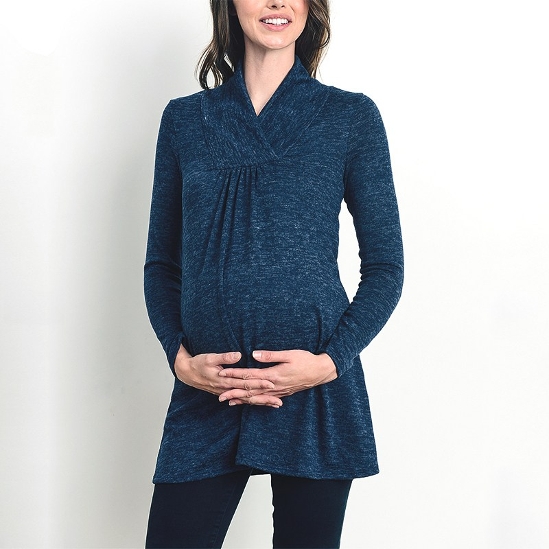 Mutterschaft Kleidung 2018 Frühling Herbst schwangere Frauen Shirts - Schwangerschaft und Mutterschaft