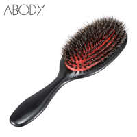 Abody Comb Hair Brush Professional Hairdressing Supplies hairbrush Combo tangle Brushes for hair combos Boar Bristle Brush