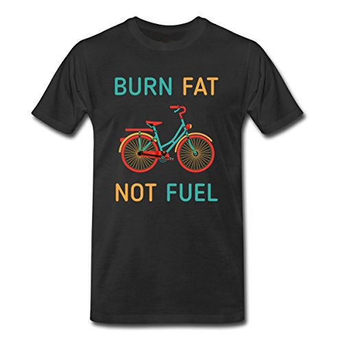 Personalized Shirts Short Sleeve Crew Neck Burn Fat Not Fuel Fashion 2018 Mens Tees