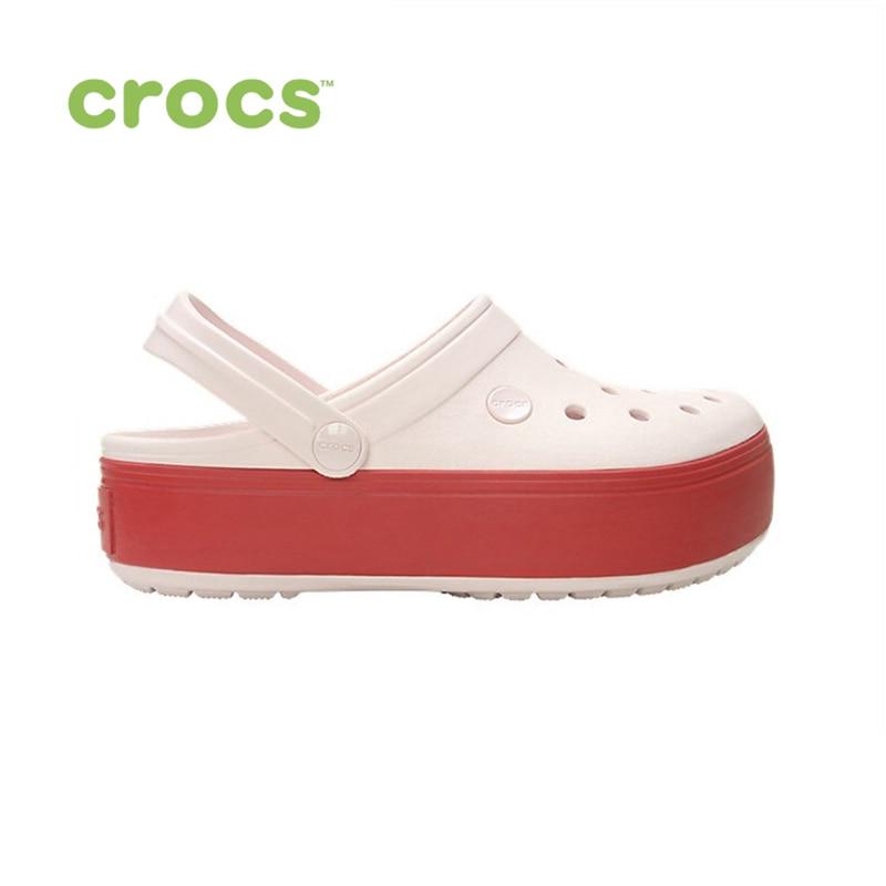 Фото - CROCS Crocband Platform Clog UNISEX for male, for female, man, woman TmallFS shoes women high heel shoes platform pumps woman thin high heels party wedding shoes ladies kitten heels plus size 34 40 41 42 43