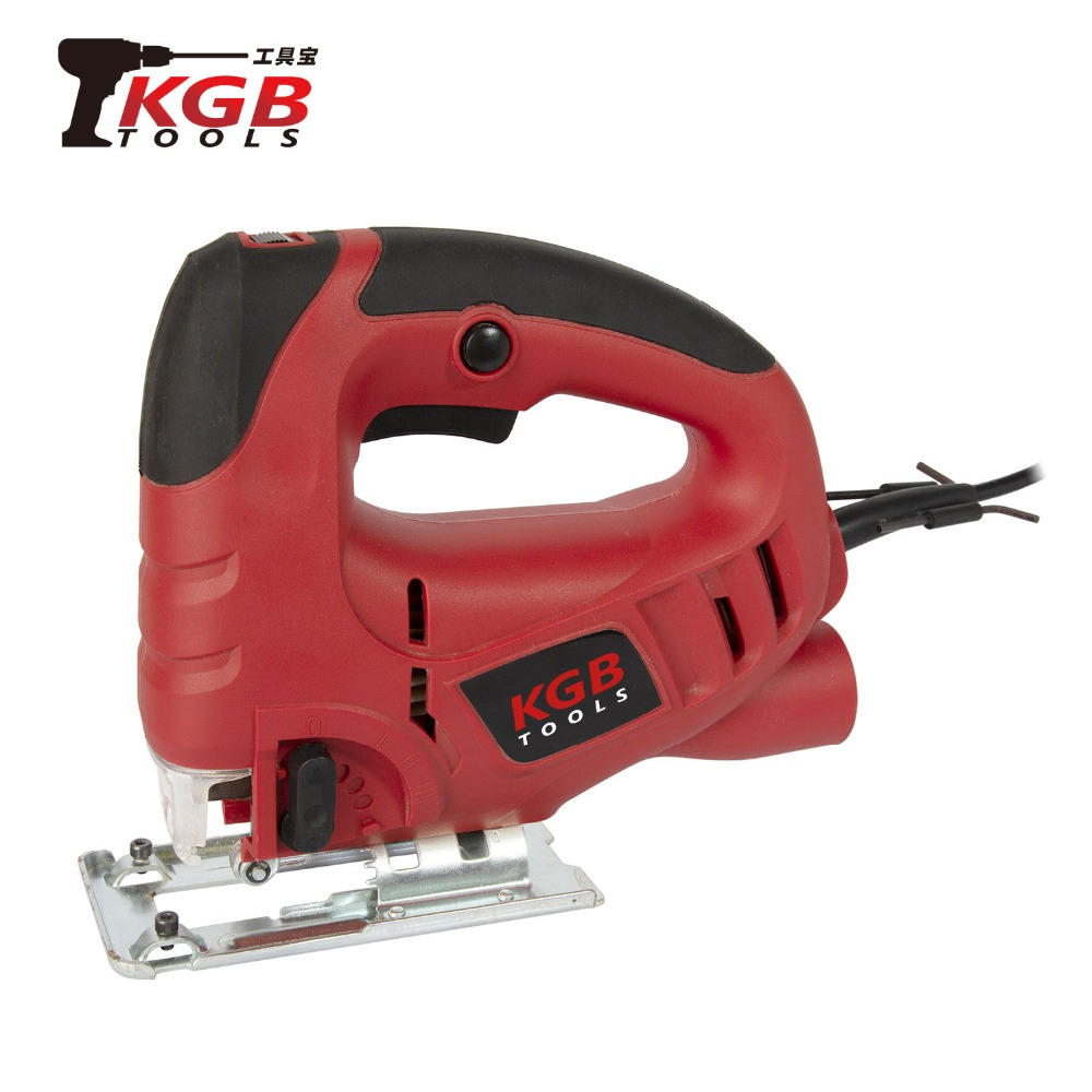 KGB 230V 570W Electric Jig Saw 6-steps Adjustable Woodworking Hand-held Household Wood Cutting Machine