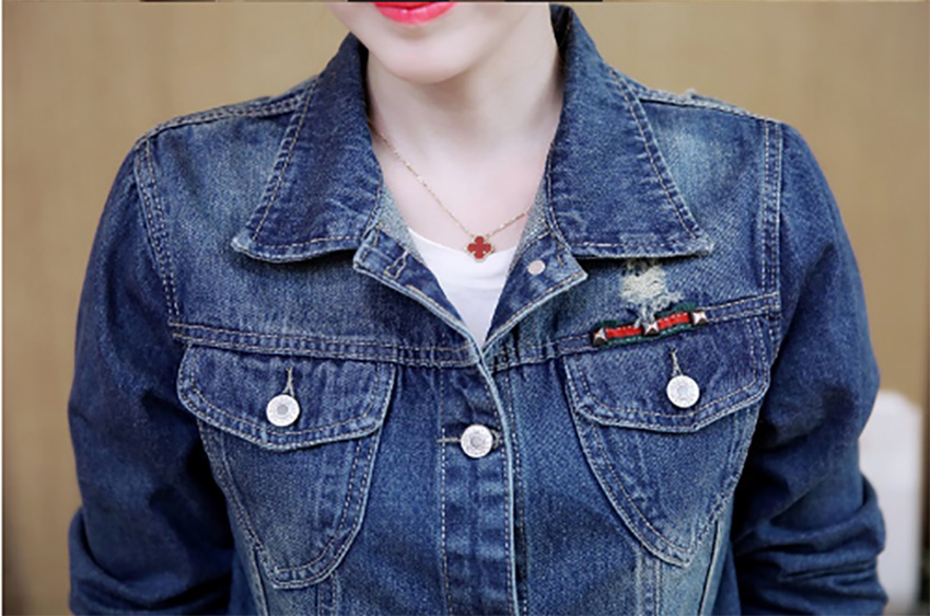 Denim Jacket Casaco Flying Roc 2019 Women Coat Korea Style Jacket Ropa De Invierno Para Mujer Femme Jeans Plus Sizeджинсо in Jackets from Women 39 s Clothing