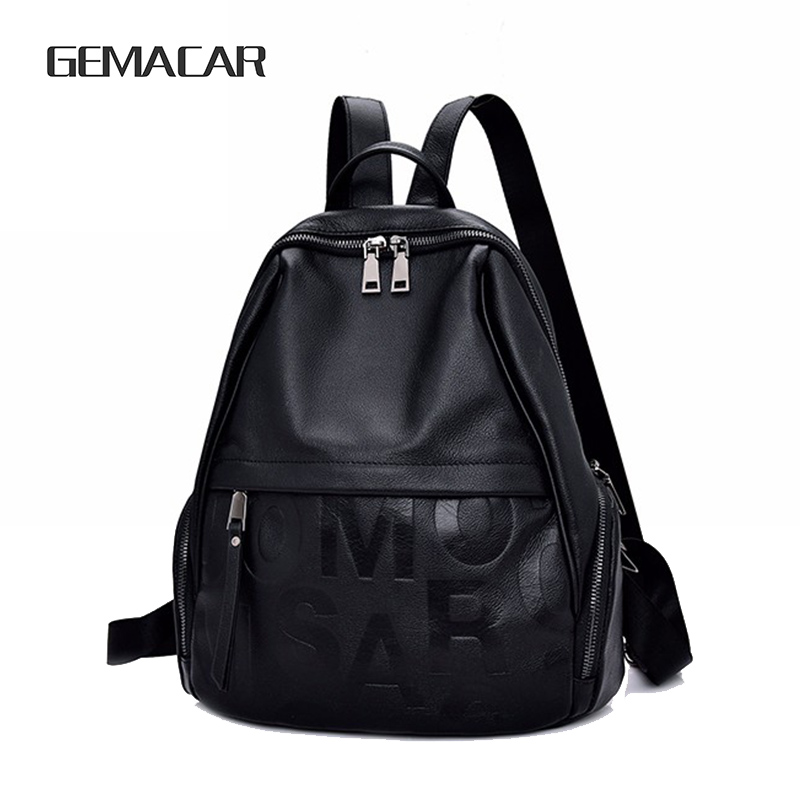 Elegant Wild Leather Woman Bag Fashion Soft  Backpack  Classic Design Casual Shopping Quality Girl KnapsackElegant Wild Leather Woman Bag Fashion Soft  Backpack  Classic Design Casual Shopping Quality Girl Knapsack
