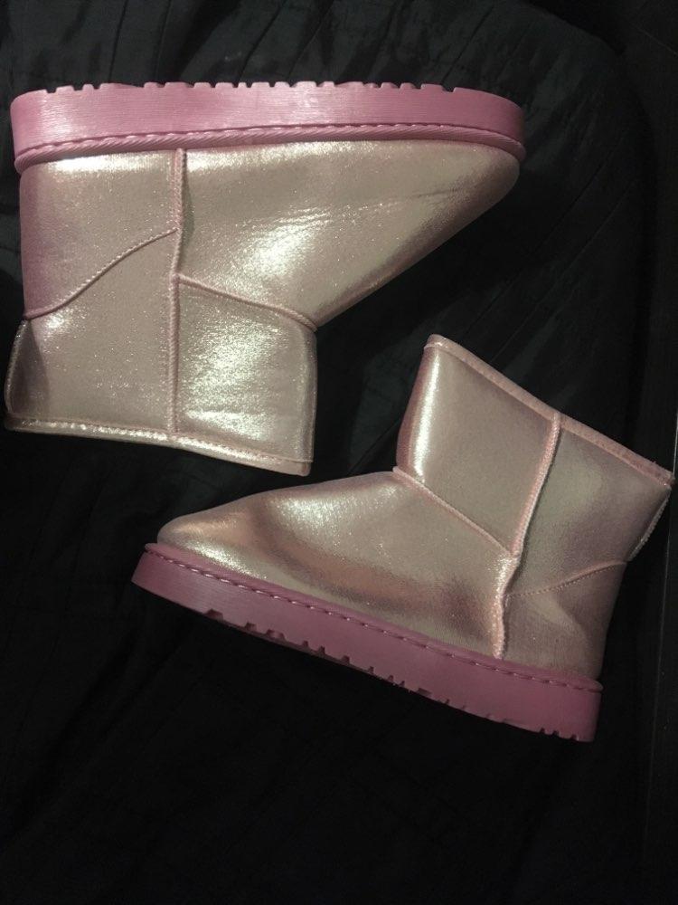 75644ec1426 winter waterproof snow boots women platform warm plush ankle boots ...