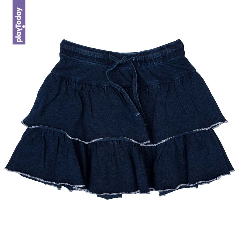 Skirts PLAYTODAY for girls 372068 Children clothes kids clothes girls dress petals princess flower wedding gauze children skirts