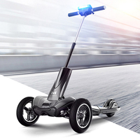 MERCANE M1 Electric scooter Folding electric vehicle three wheels Front wheel 10 inches, rear wheel 8 inches, suspension system