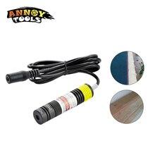 Módulo láser de alta calidad, haz rojo de 10mW 200mw, 648nm, 650nm, dispositivo de marcado de luces de posicionamiento de línea láser