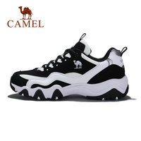 CAMEL Women Casual Shoes Fashion Black White Anti skid Wear resistant Running Sports Sneaker Shoes For Women Exercise Outdoor