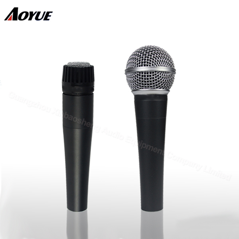 buy new high quality m58 58lc wired microphone vocal karaoke handheld microfone. Black Bedroom Furniture Sets. Home Design Ideas