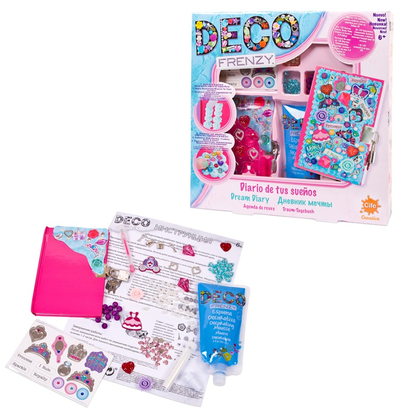 Decorating kit Deco Frenzy, Dream diary cife spain business набор для декорирования cife spain business deco frenzy фоторамка