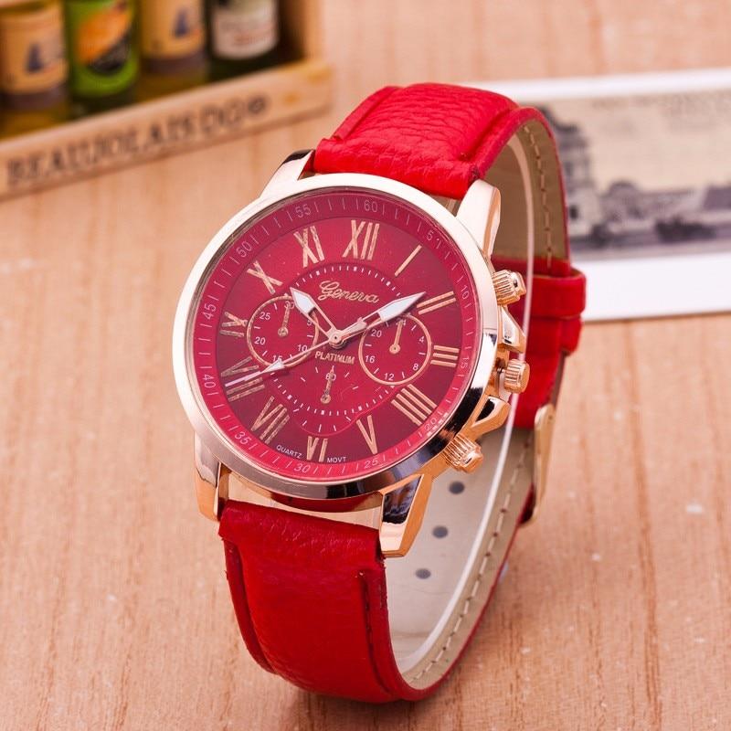 Luxury Brand Leather Quartz Watch Women Ladies Men Fashion Bracelet Wrist Watch Wristwatches Clock Relogio Feminino Masculino #4