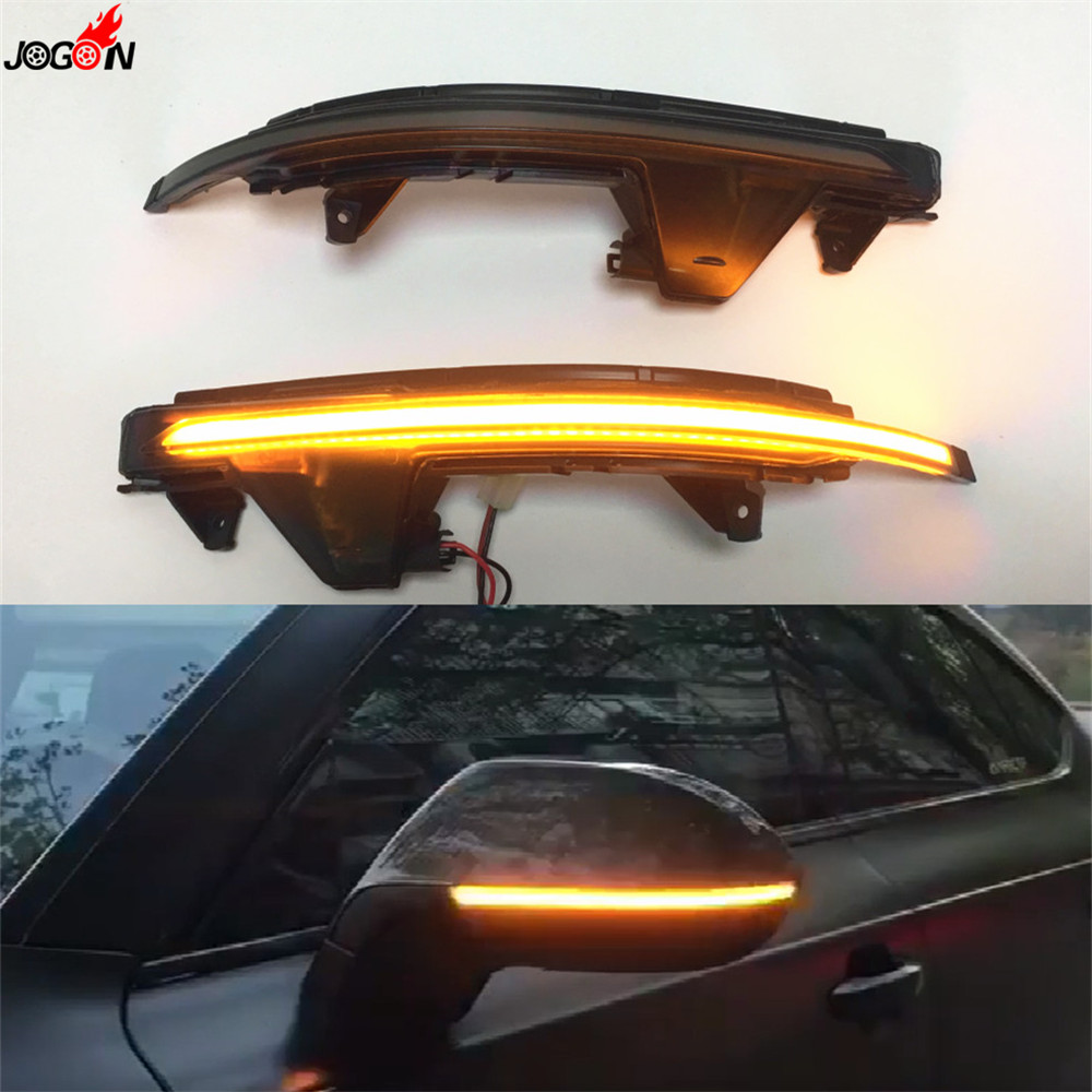 Dynamic Turn Signal LED Side Wing Rearview Mirror Sequential Indicator Blinker Repeater Light For Audi A7