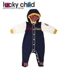 Комбинезон Lucky Child без начёса для мальчиков, арт. 27-3 (Мужички) [сделано в России, доставка от 2-х дней]