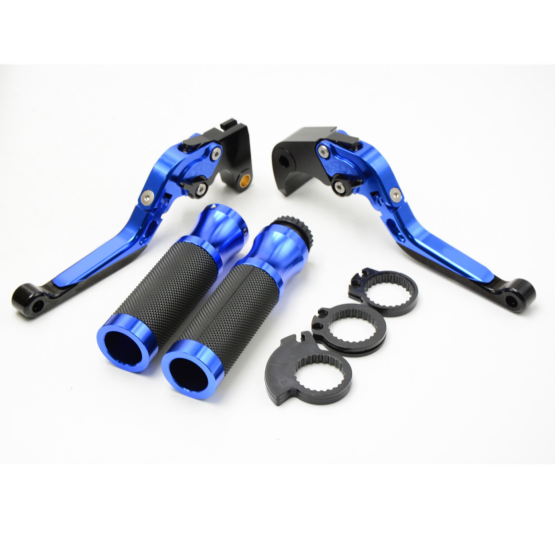 CNC Motorcycle Brake clutch lever handle grips For BMW R1200GS R 1200 GS 2012 h2cnc cnc long adjustable brake clutch lever for bmw r1200gs r1200rt r1200r r1200rs k1600gt k1600gtl r ninet