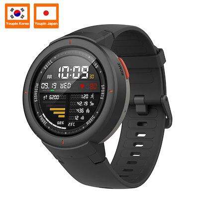 Xiao mi Hua mi AMAZFIT Verge 3 GPS montre intelligente IP68 AMOLED écran réponse appels Smartwatch Multi Sports pour mi mi 8