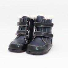 Tipsie toes 2020 yeni kış çocuk yalınayak ayakkabı deri Martin çizmeler çocuklar kar erkek kauçuk moda pembe Sneakers