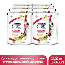 Сухой корм Cat Chow для взрослых кошек, с высоким содержанием домашней птицы, 3.2 кг.