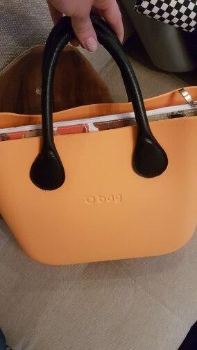 TANQU Classic Mini Canvas Zip Top Street Valse voering voor binnen voering voor Obag Standard Mini O Bag handtas accessoire voor dames photo review