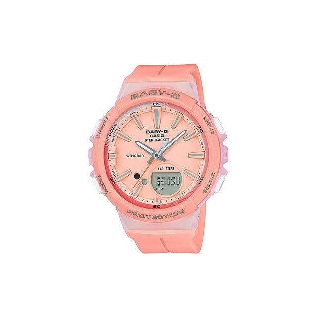 Наручные часы Casio BGS-100-4A женские, детские кварцевые