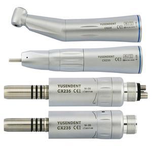 Стоматологический воздушный турбина COXO, низкоскоростной Воздушный Двигатель с прямым углом, внутренняя вода с 2/4 отверстиями CX235 YUSENDENT