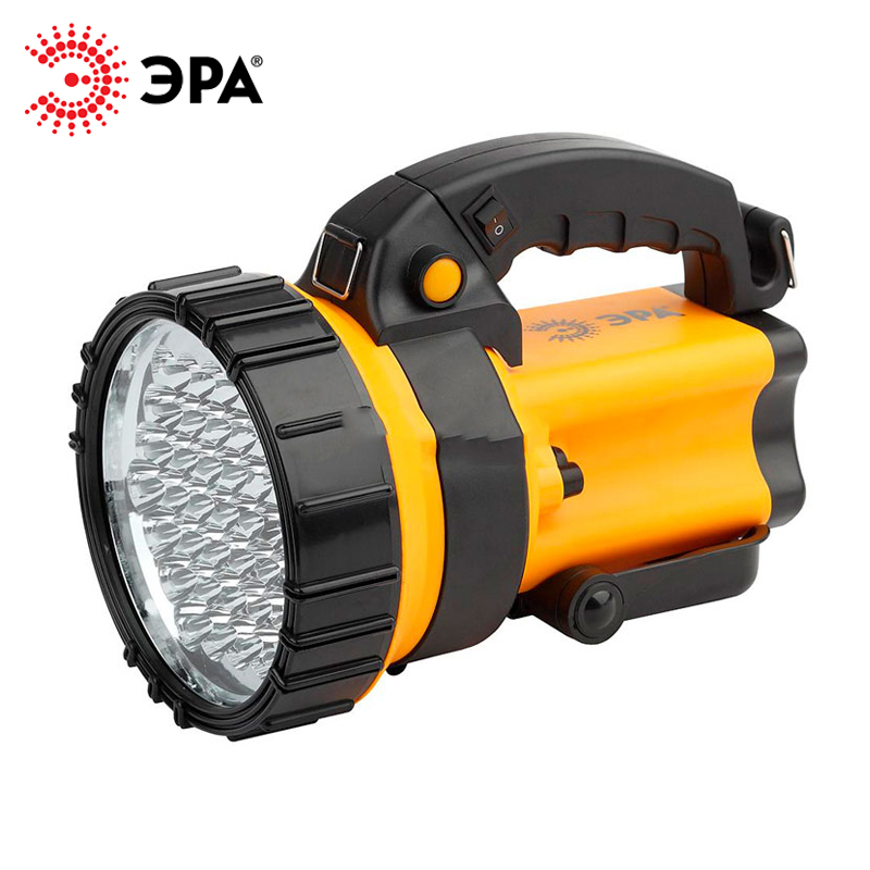 PA-603 ERA flashlight projector rechargeable OMEGA 36xLED, Li 3Ач, with charger 220 V + 12 V lumintop 920 lumen flashlight sd4a searching light cree xp l hi powerful led flashlight max beam 285 meters 8 modes